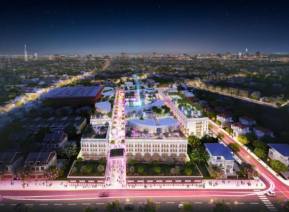 Tuyến phố này thuộc dự án D-One Sài Gòn
